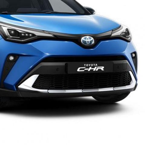 Накладка бампера антигравійна передня для Toyota C-HR