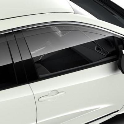Вітровики прозорі на передні вікна для Corolla