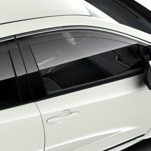 Вітровики прозорі на передні вікна для Toyota Corolla