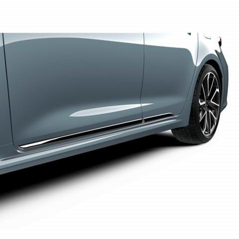 Хромовані молдинги дверей для Toyota Corolla