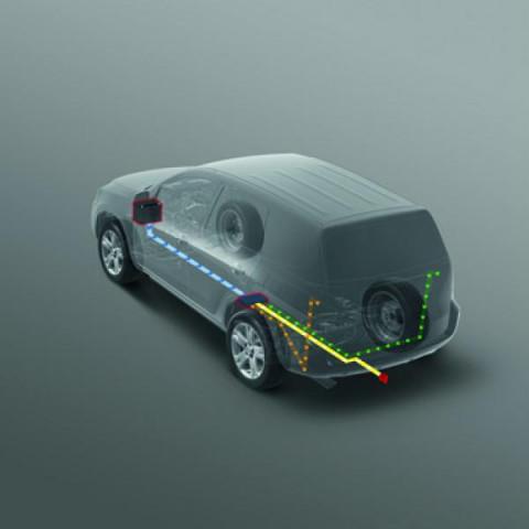 Електоропроводка для фаркопа 13P для Toyota Corolla