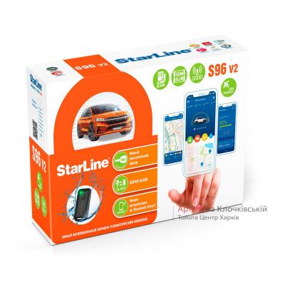 Сигналізація StarLine S96 - автозапуск опція для C-HR