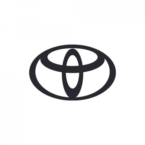 Шторка для багажника чорна для Toyota LC 200